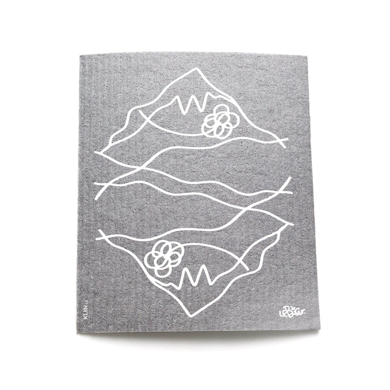 TUC x LeBicar Kliin Reusable Cleaning Cloth | Mountain Reflection