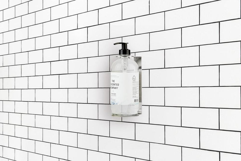 Mural Hand Soap Dispenser | Stainless Steel
