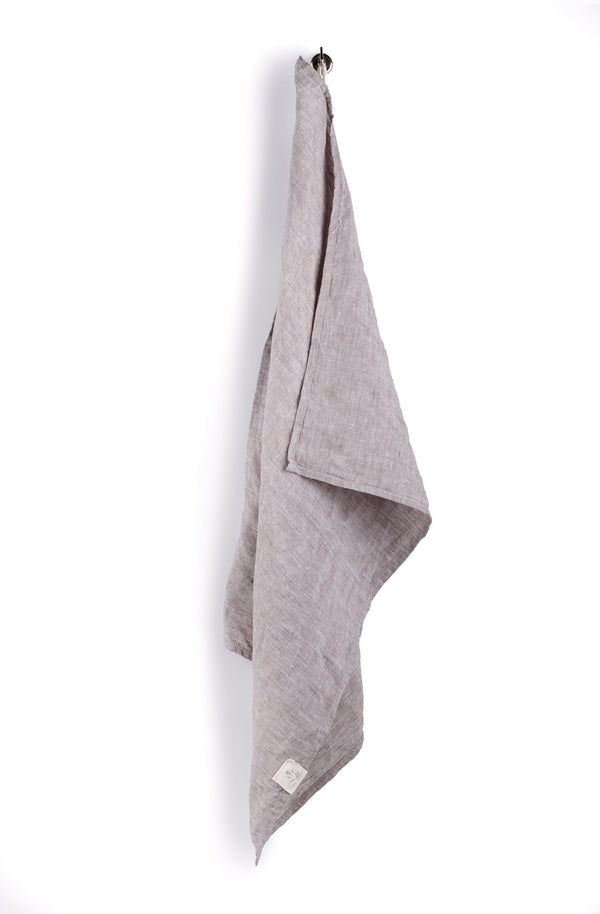 Confetti Mill - Linen Dish Towel, Grey