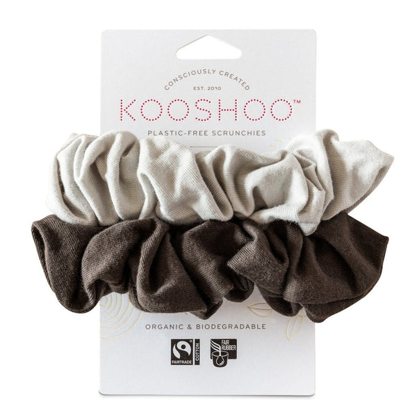 KOOSHOO | Organic Scrunchies - Moon Shadow