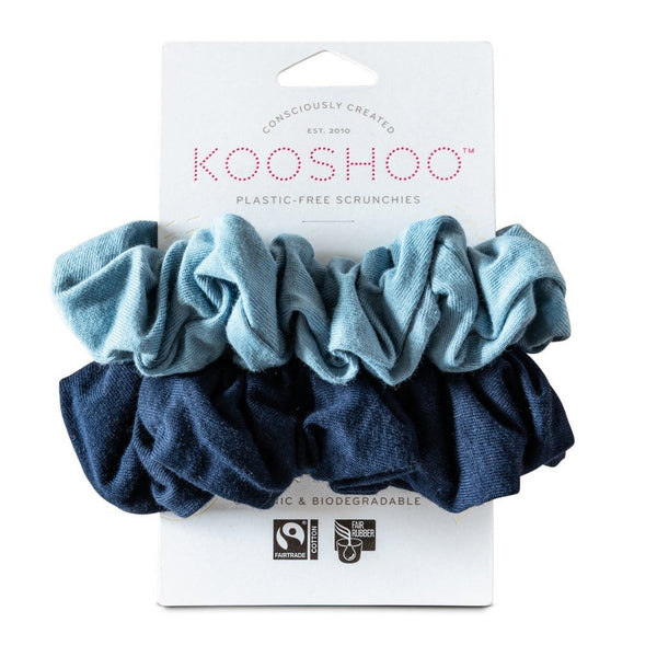 KOOSHOO | Organic Scrunchies - Evening Sky