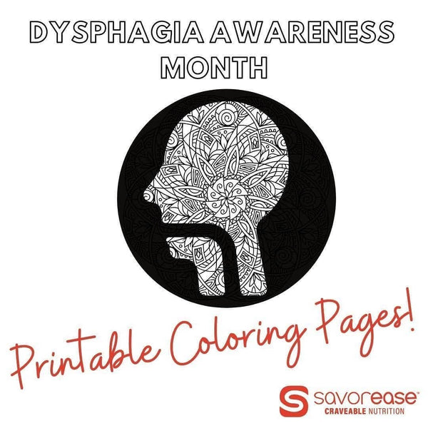 Coloring Pages | Dysphagia Awareness Month