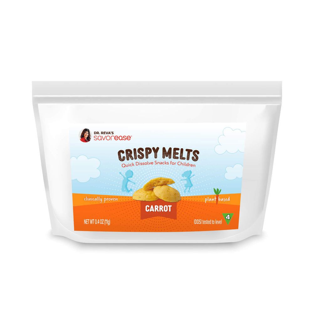 Sweet Carrot Crispy Melts For Kids (5 full serving bags)