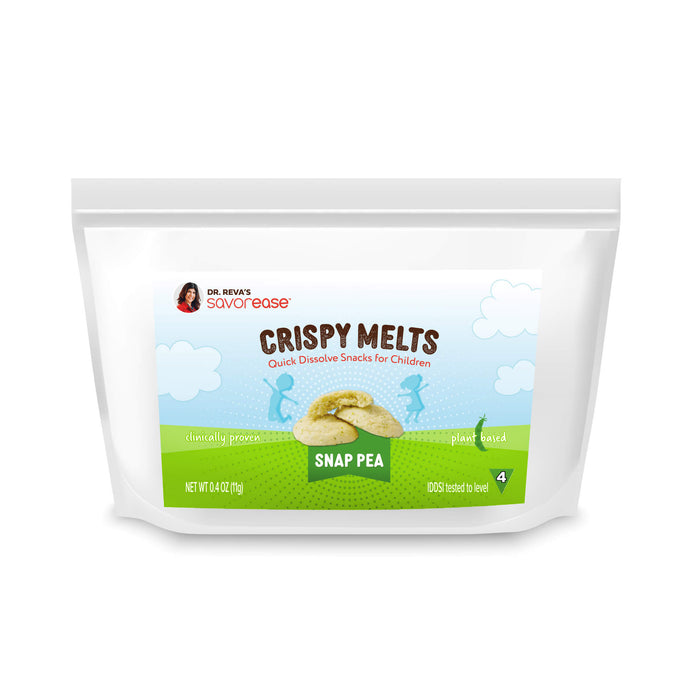 Savory Snap Pea Crispy Melts for Kids (5 full serving bags)