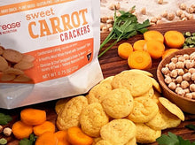 Load image into Gallery viewer, Sweet Carrot Crackers (six servings)