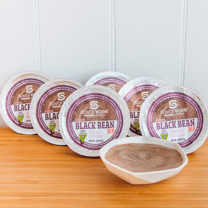 Cuban Black Bean Dips (six servings)