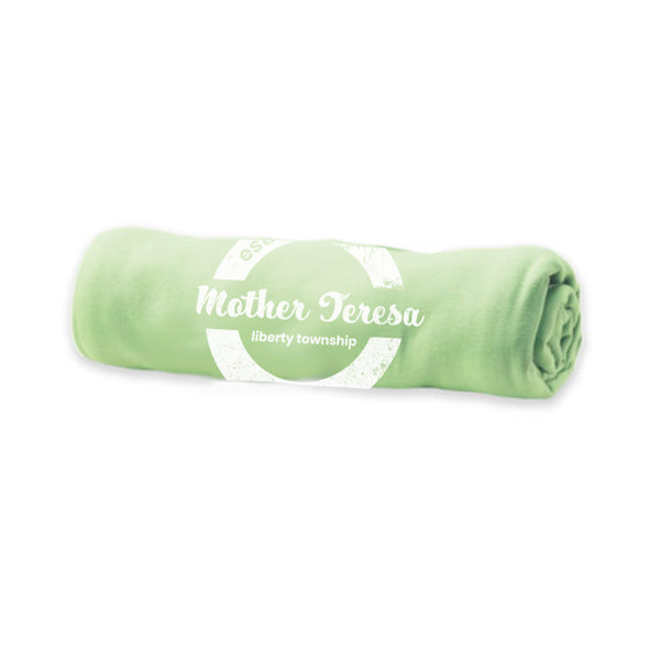 Pro-Weave Embroidery Blanket- Mother Teresa (Key Lime)