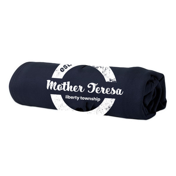 Pro-Weave Embroidery Blanket- Mother Teresa (Navy)