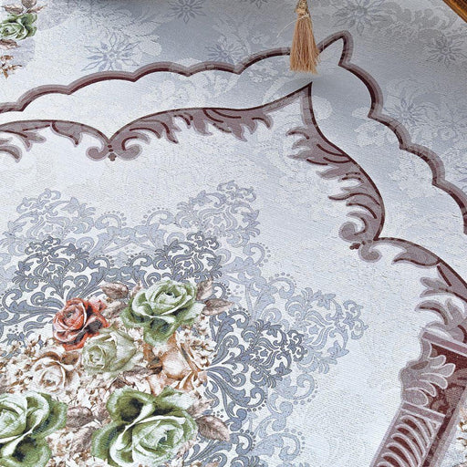 Luxury Garden Themed Prayer Mat