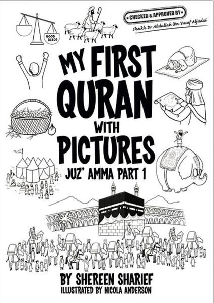 My First Quran with Pictures (Coloring Book)