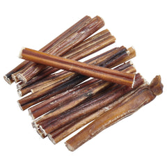 100% Natural Brazilian Bully Sticks - FDA and USDA Approved - 1 lb Bag