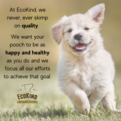 EcoKind Pet Treats Hemp Oil Infused Calming Cow Ear Chews - 10 Pack