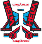 HELM Sticker Kit - Red/Blue