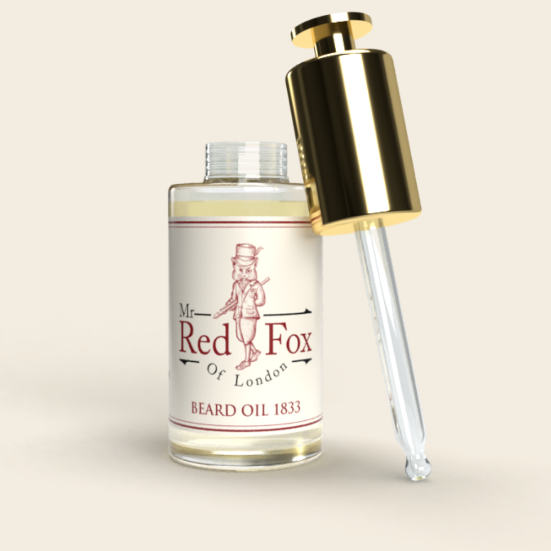 Beard Oil 1859, Tobacco and Oud - Mr Red Fox Of London