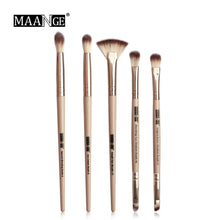 Load image into Gallery viewer, MAANGE Pro  3/5/12 pcs/lot  Makeup Brushes Set Eye Shadow Blending Eyeliner Eyelash Eyebrow Brushes For Makeup New