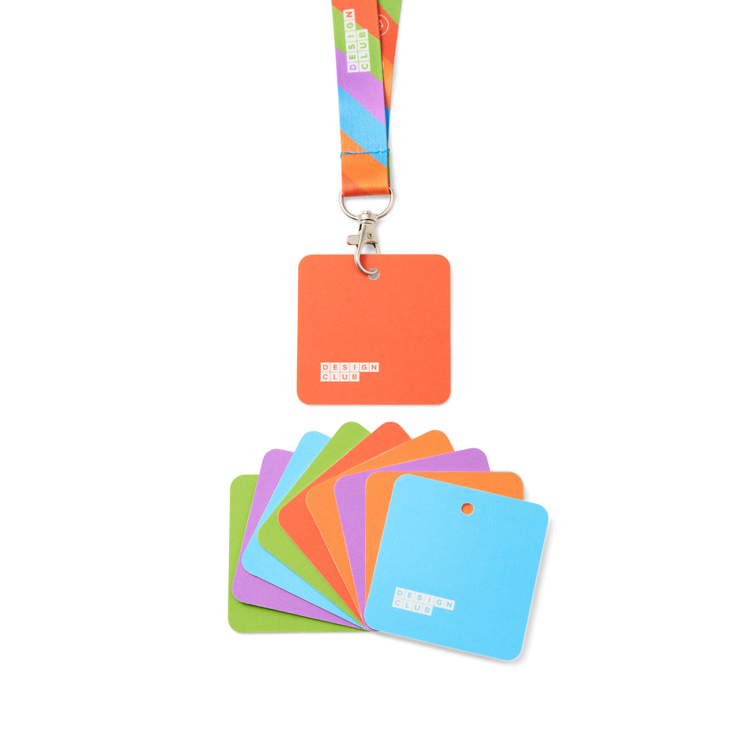 Lanyards & Name Cards (pack of 5)