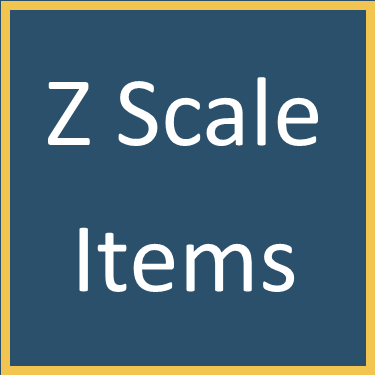 Z Scale Items