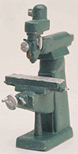 Bridgeport Vertical Milling Machine -  Scale: HO