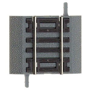 "True-Track(R) Code 83 Track & Roadbed System -- Straight Section - 1-1/2""  3.2cm pkg(4) -  Scale: HO"