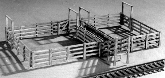 Cattle Loading Pens -- 7-7/8 x 5-3/4