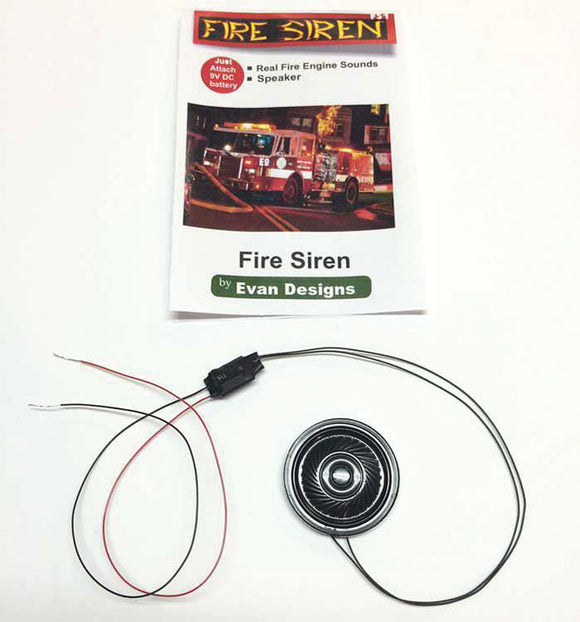 Fire Truck Siren Unit -- Assembled