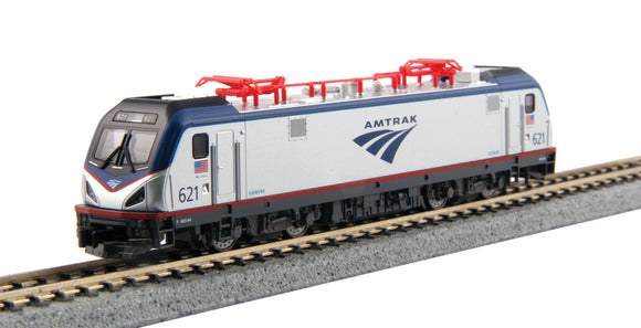 Scale: N - ACS-64 Amfleet Bookcase Train-Only Set - Standard DC -- Amtrak (Phase IV)
