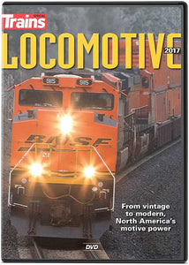 Trains Locomotive 2017 DVD -- 1 Hour, 6 Minutes