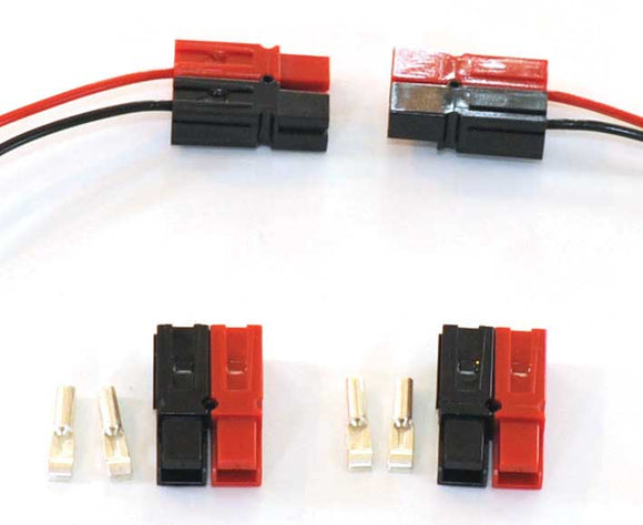 AND-24 Anderson Power Pole Connector -- 12 Each Red & Black