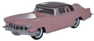1956 Lincoln Continental MkII - Assembled -- Amethyst, Dubonnet -  Scale: HO