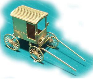Making-A-Scene Etched Brass Kit -- Amish Buggy -  Scale: N