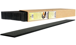 "Track-Bed Roadbed Material -- 3/16"" x 2'  5mm x .6m pkg(36) -  Scale: O"