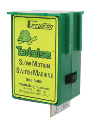 The Tortoise(TM) Switch Machine