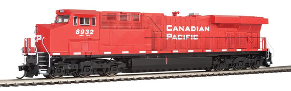 GE Evolution Series GEVO - ESU(R) Sound and DCC -- Canadian Pacific ES44AC #8932 (red, white) -  Scale: HO