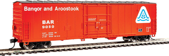 Scale: HO - 50' FGE Insulated Boxcar - Ready to Run -- Bangor & Aroostook #9080