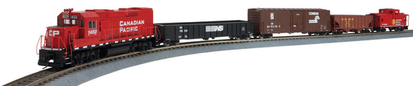 Scale: HO - WiFlyer Express Train Set with Sound and DCC -- Canadian Pacific