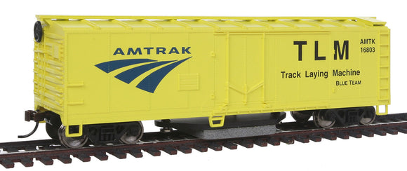 Track Cleaning Boxcar -- Amtrak -  Scale: HO