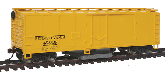 Track Cleaning Boxcar -- Pennsylvania Railroad -  Scale: HO