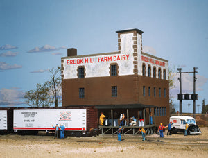 "Brook Hill Farm Dairy -- Kit - 7-3/8 x 7-1/4""  18.7 x 18.4cm -  Scale: HO"