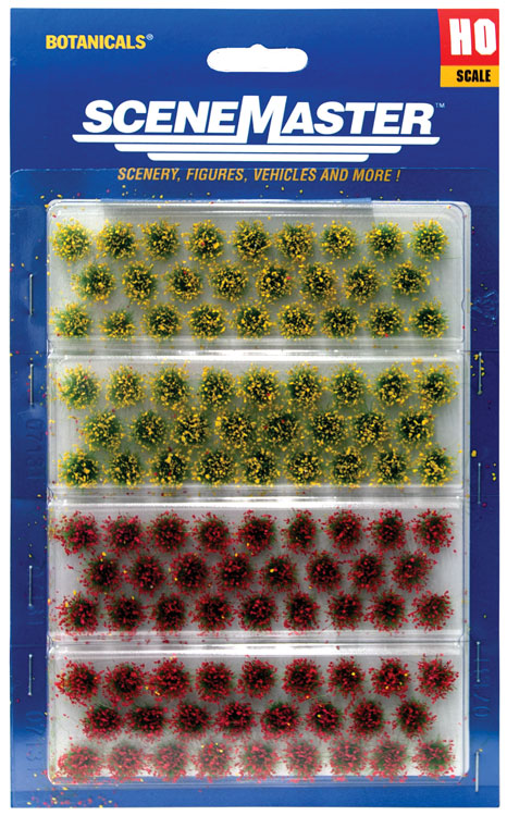 Scale: HO - Grass Tufts - pkg(104) 1/4
