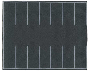"Scale: HO - Flexible Self-Adhesive Paved Parking Lot -- 7-7/8 x 6-3/16""  20 x 16cm"