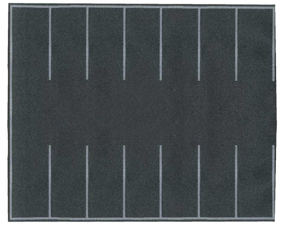 Scale: HO - Flexible Self-Adhesive Paved Parking Lot -- 7-7/8 x 6-3/16