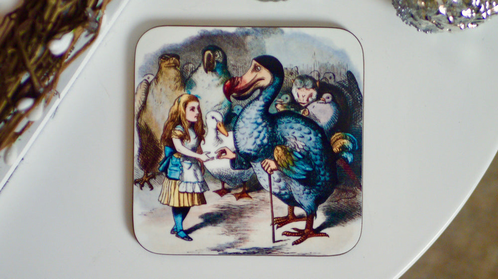Alice in Wonderland Dodo Coaster - Kitsch Republic