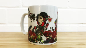 Alice in Wonderland Christmas Mug