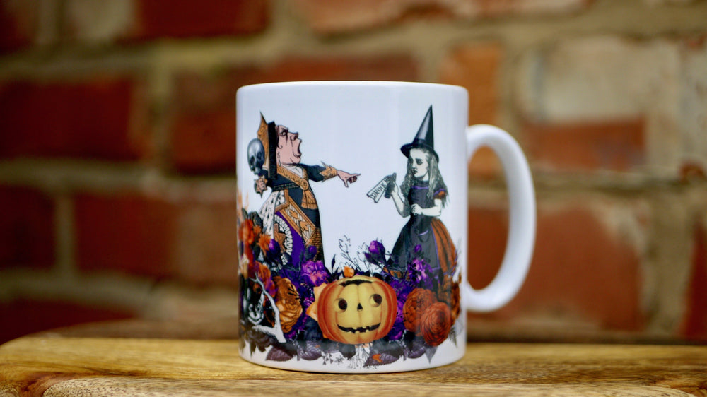 Halloween Alice in Wonderland Mug - Ceramic Mug