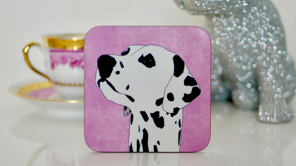 Dalmation Dog Coaster - Kitsch Republic
