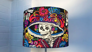 Day of the Dead Skeleton Lampshade