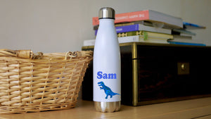 Load image into Gallery viewer, Dinosaur - Stainless Steel Water Bottle - Kitsch Republic