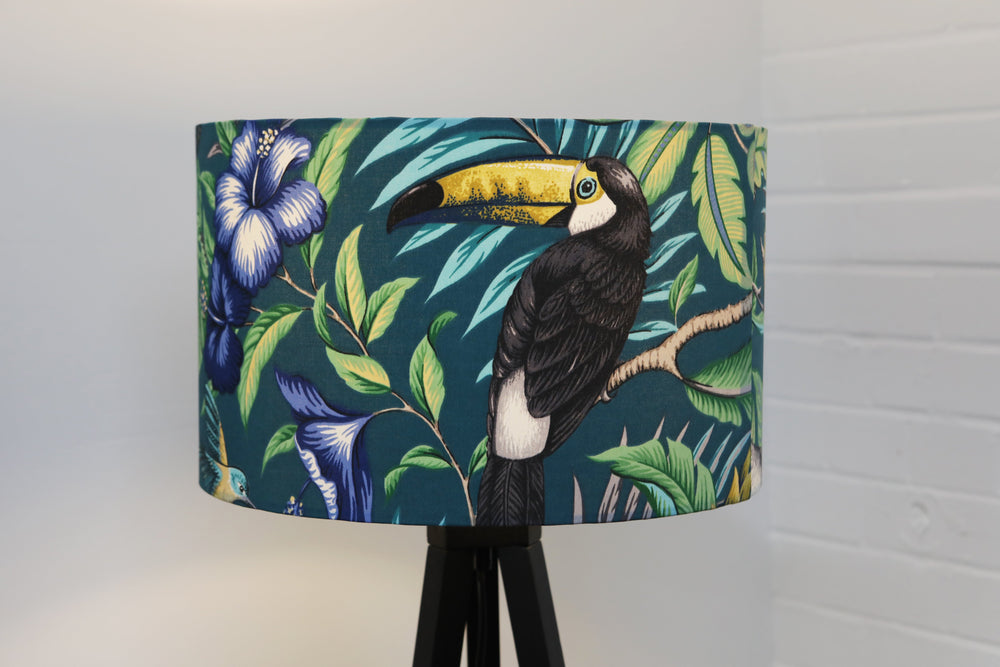 Load image into Gallery viewer, Green Jungle Lampshade