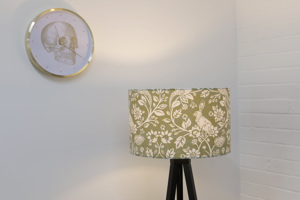 Load image into Gallery viewer, Sage Green Rabbit Lampshade