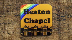 Load image into Gallery viewer, Heaton Chapel Stockport Coaster - Kitsch Republic